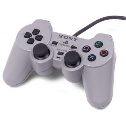 Grey Sony Playstation 1 Controller SCPH-1200