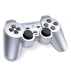 Sony Playstation 2 DualShock 2 Silver Controller scph-10010