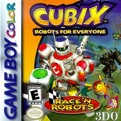 Cubix: Robots for Everyone -- Race 'N Robots (Nintendo Game Boy Color, 2001)