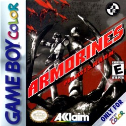 Armorines: Project S.W.A.R.M. (Nintendo Game Boy Color, 1999)