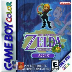 The Legend of Zelda: Oracle of Ages (Nintendo Game Boy Color, 1999)