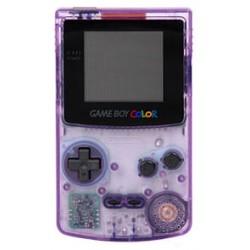 Nintendo Game Boy Color Atomic purple handheld