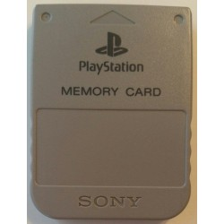 Official Sony Brand memory card PlayStation Grey