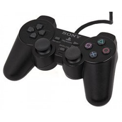 Black Sony Playstation 1 Controller SCPH-1200