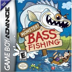 Monster! Bass Fishing (Nintendo Game Boy Advance, 2004)