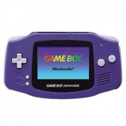 Indigo Game Boy Advance handheld