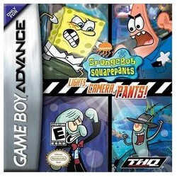Spongebob Squarepants: Lights, Camera, Pants! (Nintendo Game Boy Advance, 2005)