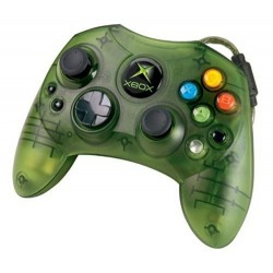 Microsoft Original Xbox S Controller Green