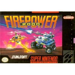Firepower 2000 (Nintendo SNES 1992)