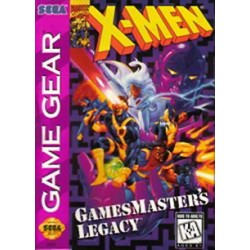 X-Men: GamesMaster's Legacy (Sega Game Gear, 1995)