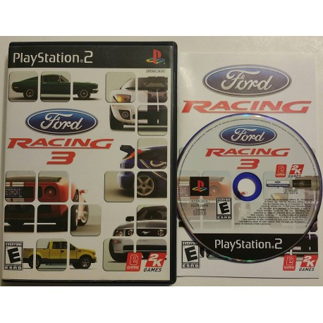Ford Racing 3 (Sony PlayStation 2, 2005)