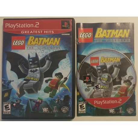 Lego Batman The Videogame Sony Playstation 2