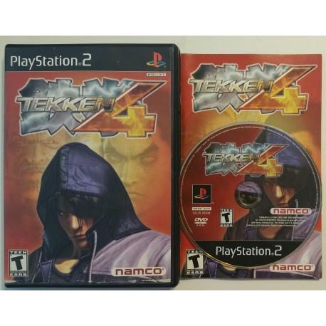 Tekken 4 Sony Playstation 2 2002 Game Igloo