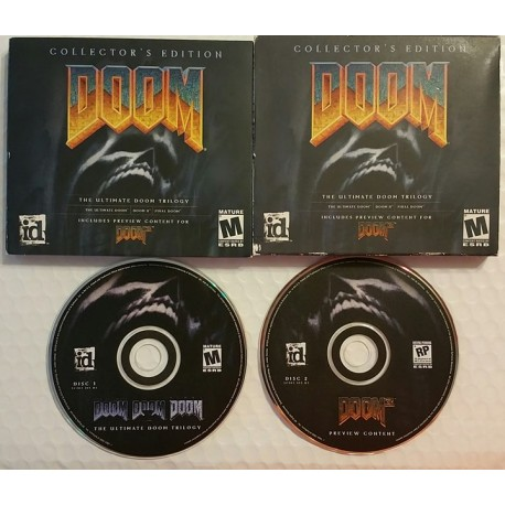 Doom: Collector's Edition (PC, 2001)
