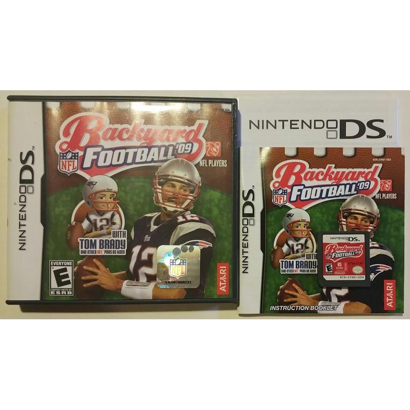 Backyard Football '09 (Nintendo DS, 2008) - Game Igloo