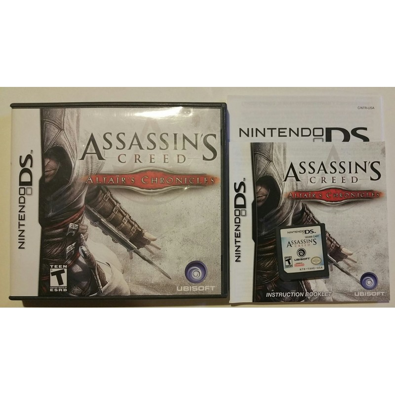 Assassin S Creed Altair S Chronicles Nintendo Ds 2008 Game Igloo