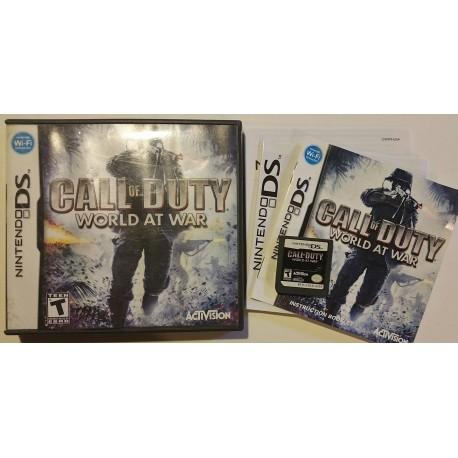 Call of Duty: World at War (Nintendo DS, 2008)