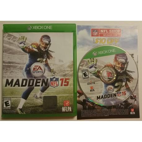 Madden NFL 15 (Microsoft Xbox One, 2014)