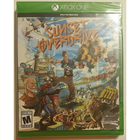 Sunset Overdrive: Day One Edition (Microsoft Xbox One, 2014)