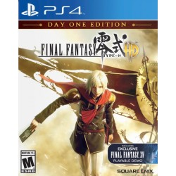 Final Fantasy Type-0 HD(Sony PlayStation 4, 2015)