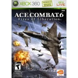 Ace Combat 6: Fires of Liberation (Microsoft Xbox 360, 2007)