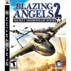 Blazing Angels 2: Secret Missions of WWII (Sony PlayStation 3, 2007)