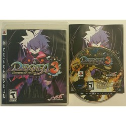 Disgaea 3: Absence of Justice (Sony Playstation 3, 2008)