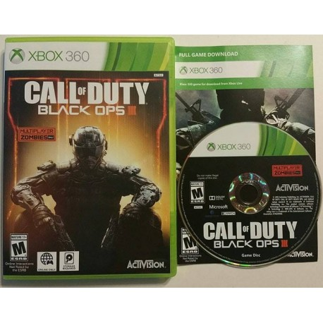Call Of Duty Black Ops Iii Microsoft Xbox 360