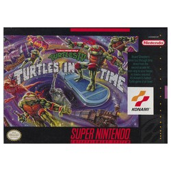Teenage Mutant Ninja Turtles IV: Turtles in Time (Super NES, 1992)