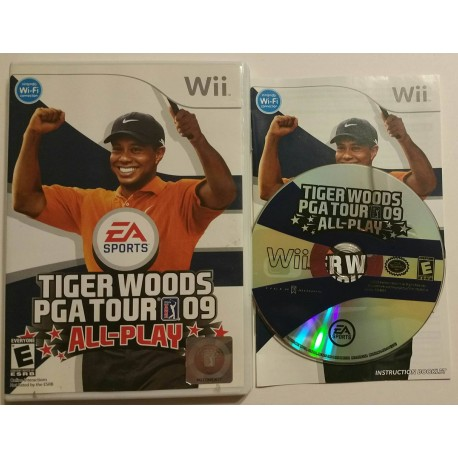 Tiger woods pga tour 09 all-play for wii sales, wiki, release.