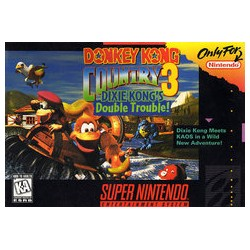 Donkey Kong Country 3: Dixie Kong's Double Trouble (Super NES, 1996)
