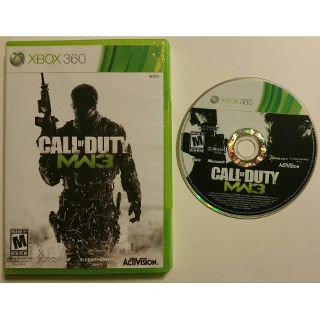 Call Of Duty Modern Warfare 3 Microsoft Xbox 360