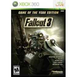 Fallout 3 Game of the Year Edition (Microsoft Xbox 360, 2009)