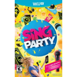Sing Party (Nintendo Wii U, 2012)