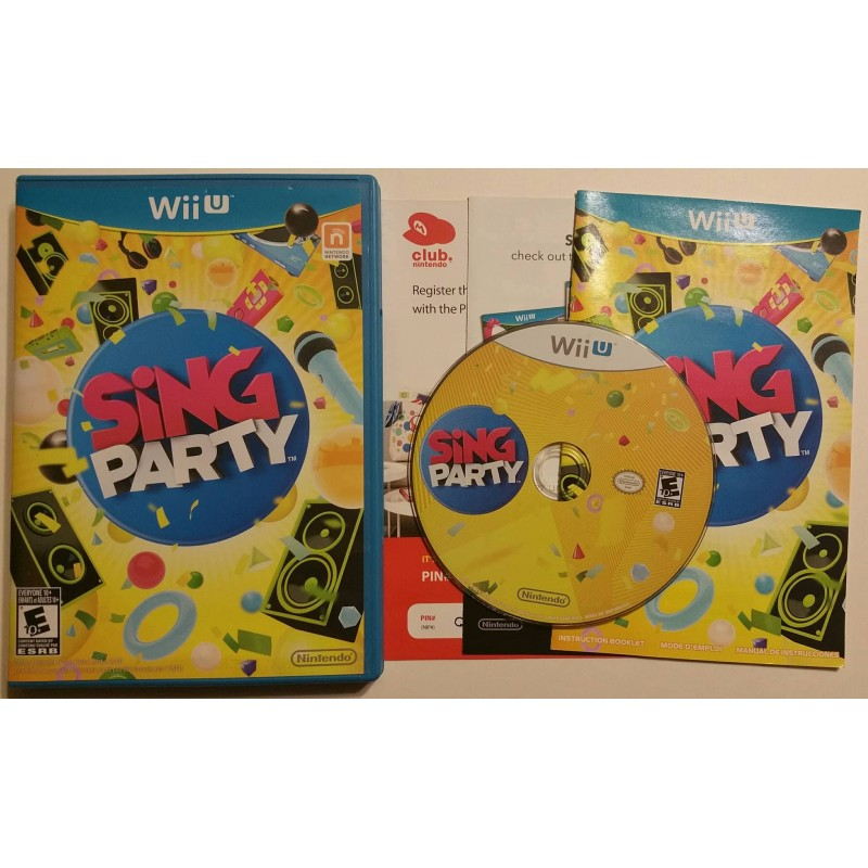 Sing Party Nintendo Wii U