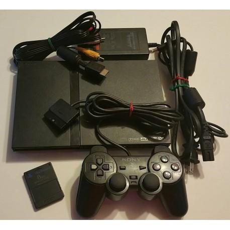 Sony PlayStation 2 Slim Charcoal Black