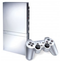Sony PlayStation 2 Slim Satin Silver