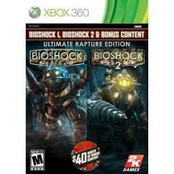 BioShock Ultimate Rapture Edition (Microsoft Xbox 360, 2013)
