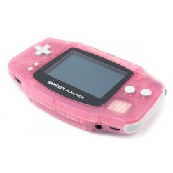 Fushia Game Boy Advance handheld