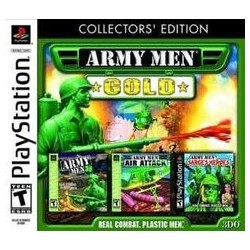 Army Men: Gold -- Collectors' Edition (PlayStation, 2002)