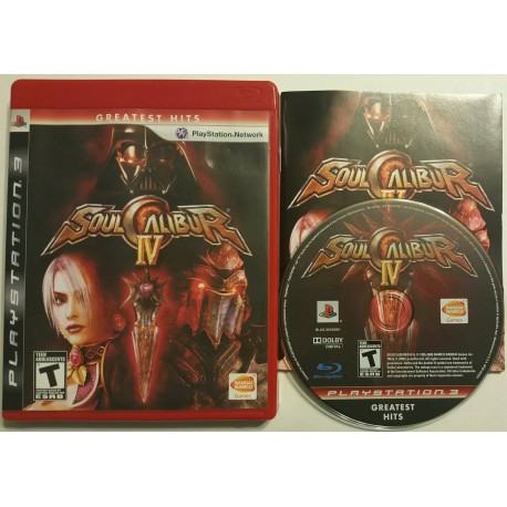 Soul Calibur IV (Sony PlayStation 3, 2008)