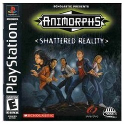 Animorphs: Shattered Reality (Sony PlayStation 1, 2000)