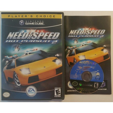 Need For Speed Hot Pursuit 2 Nintendo Gamecube