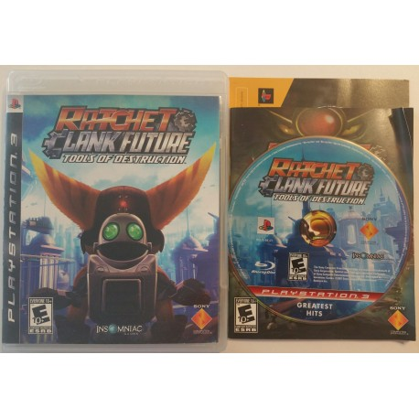 ratchet clank future tools of destruction