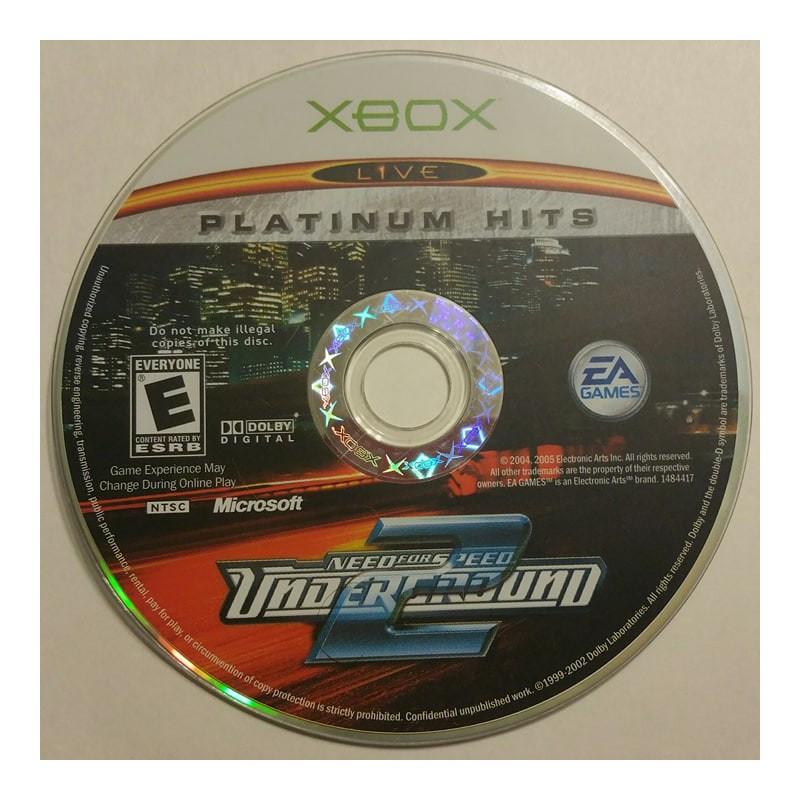 Need For Speed Underground 2 Microsoft Xbox