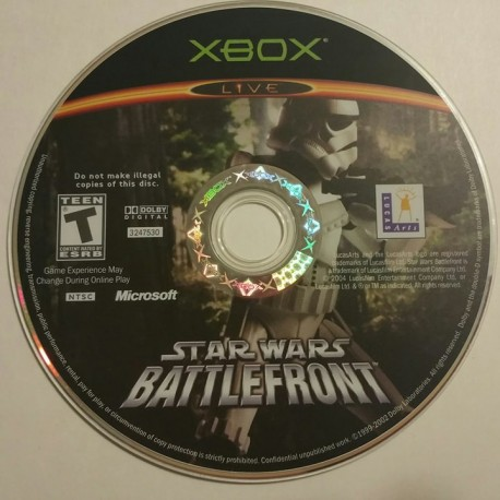 Star Wars: Battlefront (Xbox, 2004)