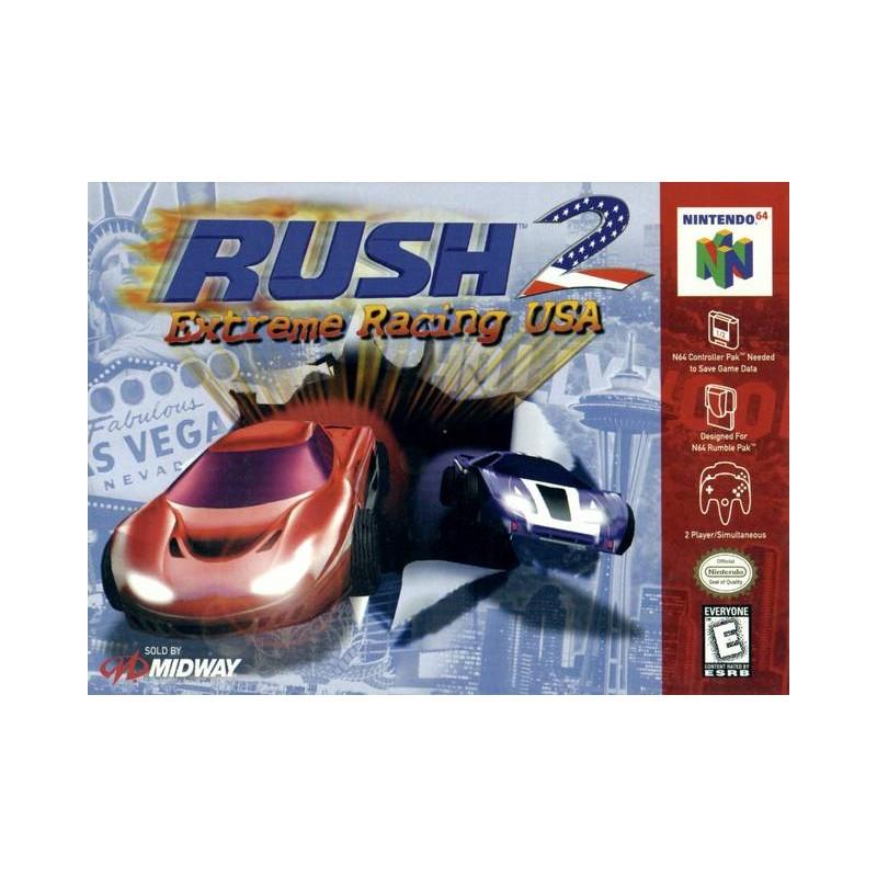 rush 2 n64