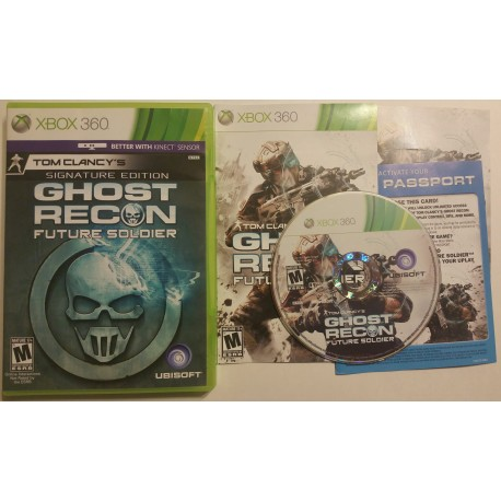 Ghost Recon Future Soldier Signature Edition (Microsoft Xbox 360, 2012)
