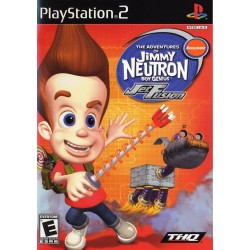 Jimmy Neutron Boy Genius: Jet Fusion (Sony PlayStation 2, 2003)