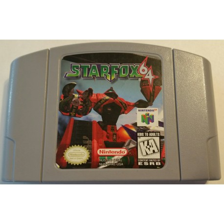 star fox 64 game